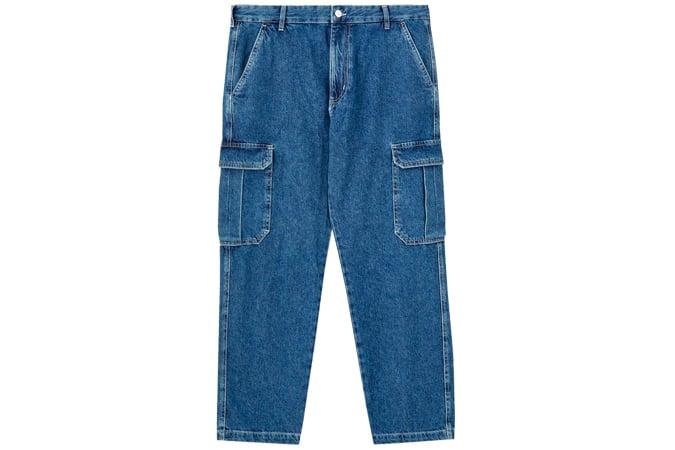 Jean cargo avec poches