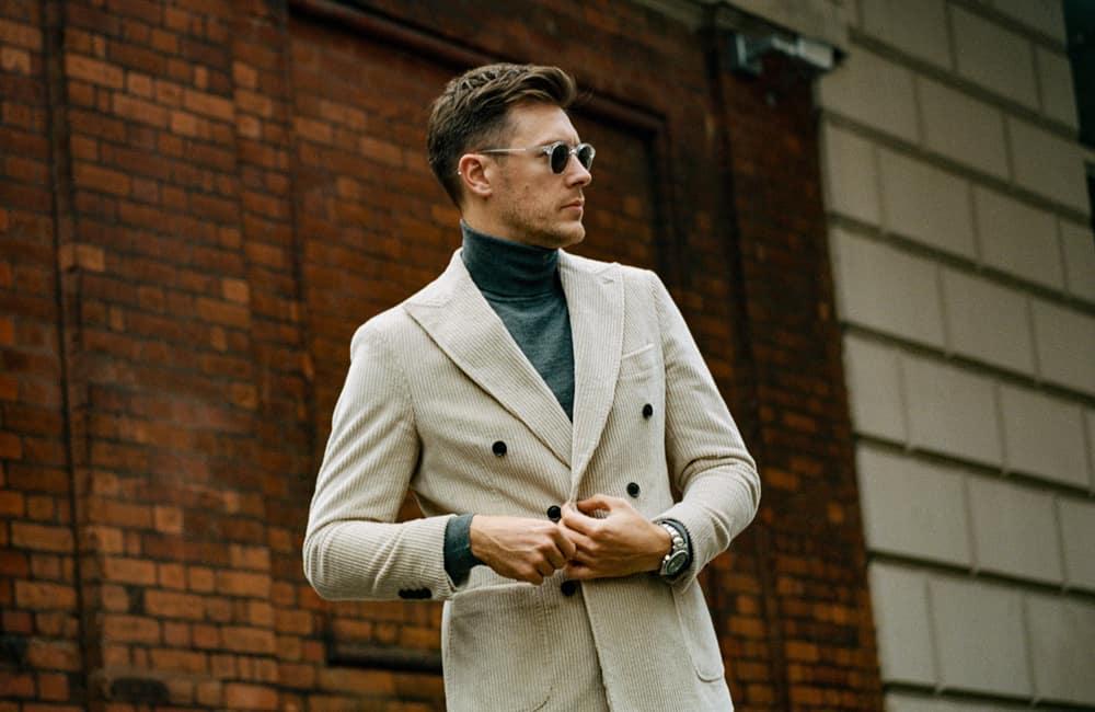 Alex Field, responsable de la mode masculine chez REISS