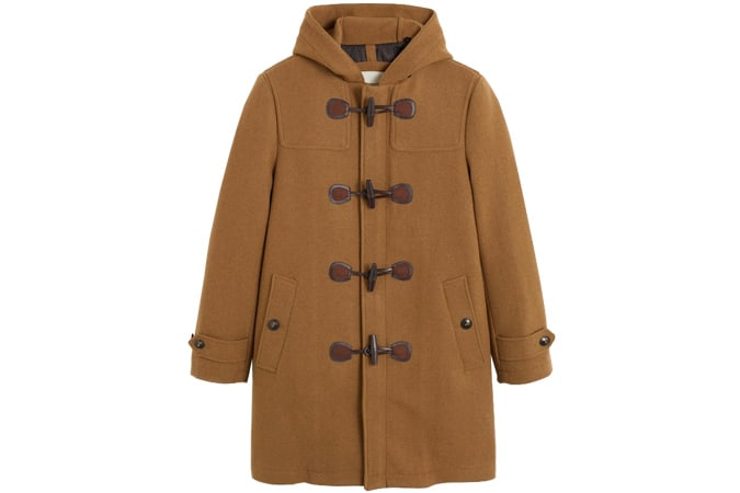 Manteau en laine à bascule