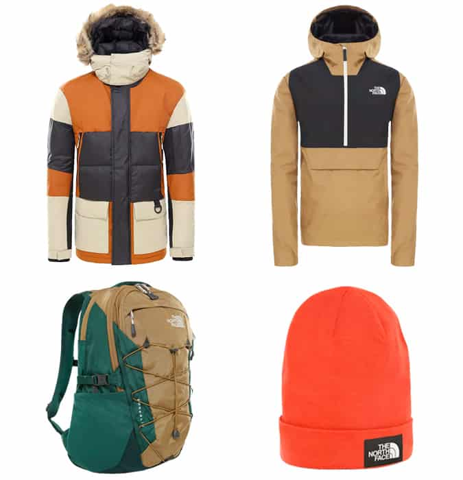 The best North Face outdoor clothing