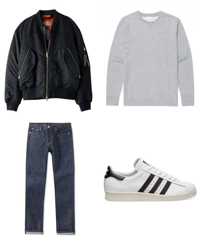 How To Wear Adidas Superstars