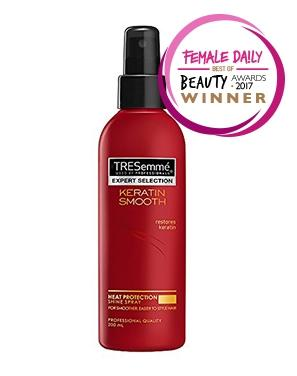 Keratin Smooth Heat Protection Spray Review Female Daily