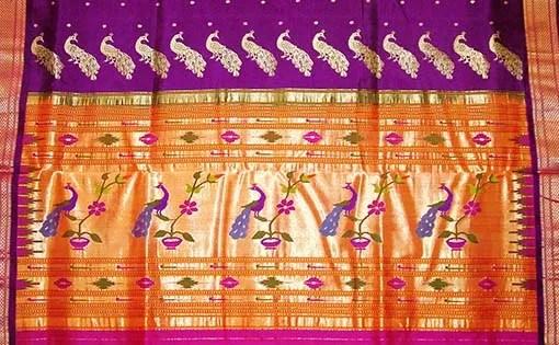 భారతదేశవ్యాప్తంగా చేనేత చీరల రకాలు