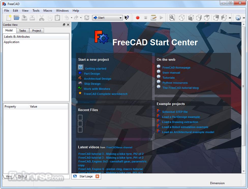 Freecad 64 Bit Download 2019 Latest For Windows 10 8 7