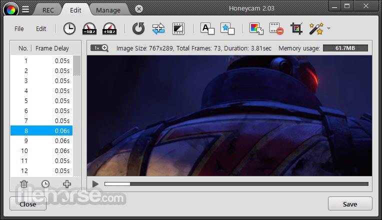 Kết quả hình ảnh cho Honeycam 2.08