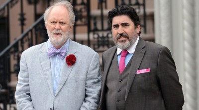 John Lithgow and Alfred Molina play a recently married gay couple forced to live apart