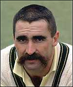 Merv Hughes - patron saint of moustache wearers