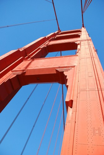 North Tower of the Golden Gate