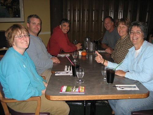 Dinner at Bobs in Sudden Valley