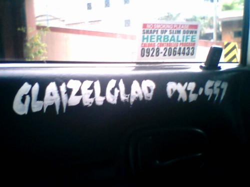 Glaizel Glad!