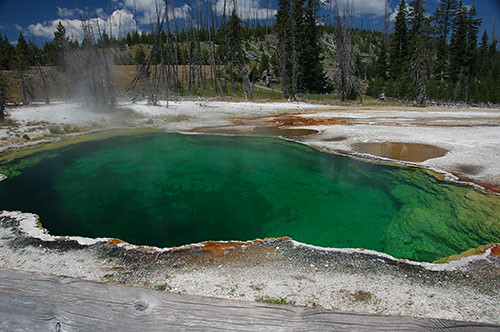 Yellowstone West Thumb - Black pool 2