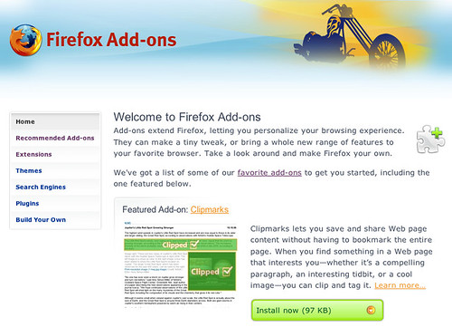 Firefox Recommended Add-ons