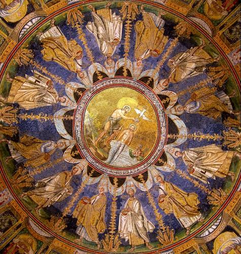 Neonian Baptistry Mosaics – Neon Baptistry – Orthodox Baptistry ...