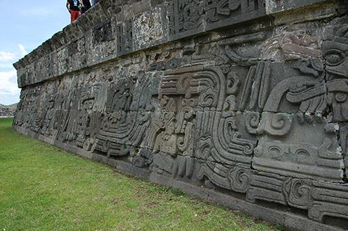 Xochilcalco - 16 Gods from the sky