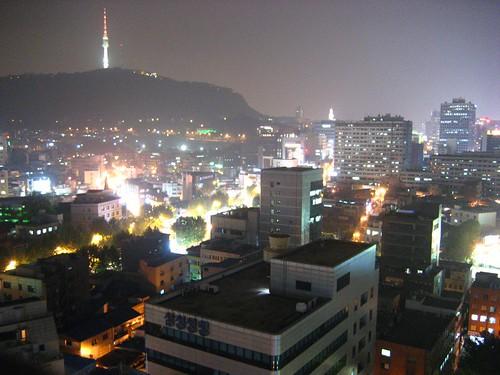 Seoul Night time