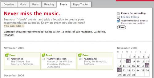 Last.fm adds microformats