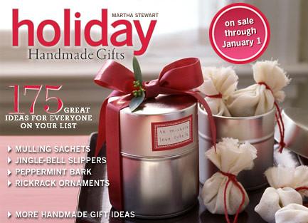 Martha Stewart Holiday Handmade Gifts