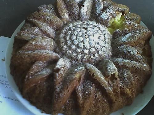 citron chiffon cake