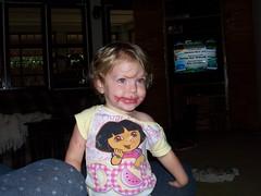 Annalise loves make-up!