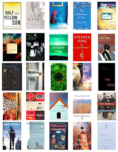Coverbrowsing the NY Times Notable Books - Fiction (H to Z)
