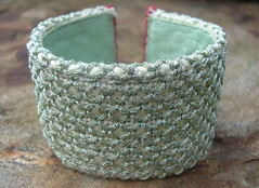Needlepoint Bangle (by Brian Sawyer)