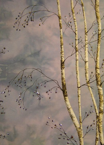 blue birches detail 2