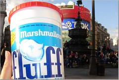 Fluff in Picadilly