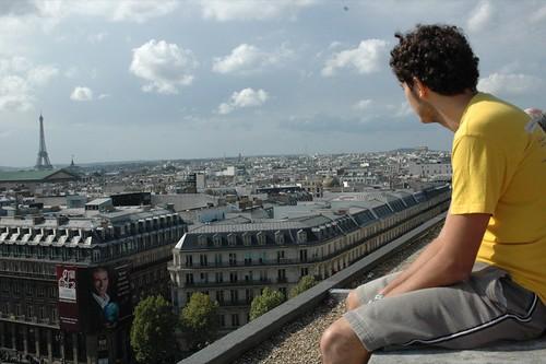 Yo observando París