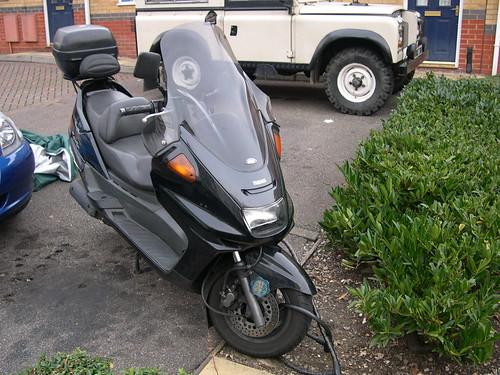 My Yamaha Majesty YP250