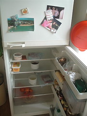Empty fridge