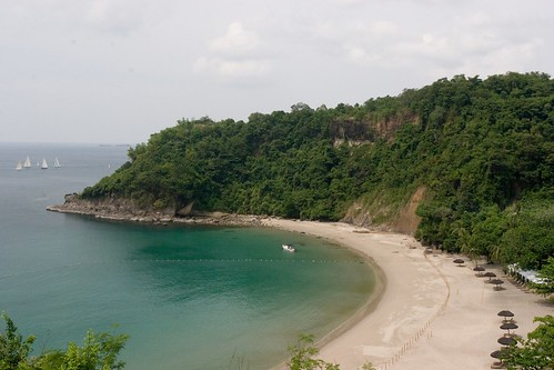 A view of Kawayan Cove from the proposed