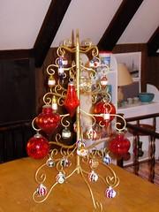 tree and shelf of tacky