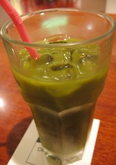 macha green tea at azabu sabo
