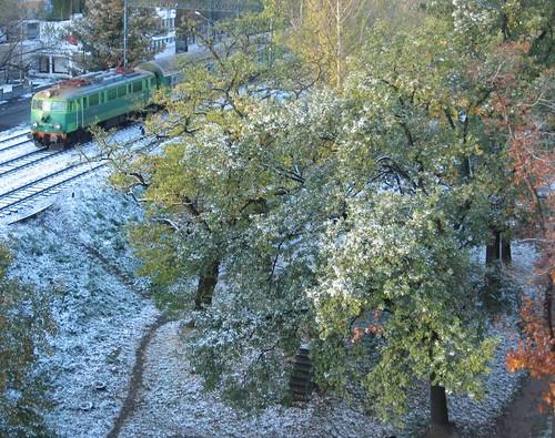 Pierwszy śnieg (I)