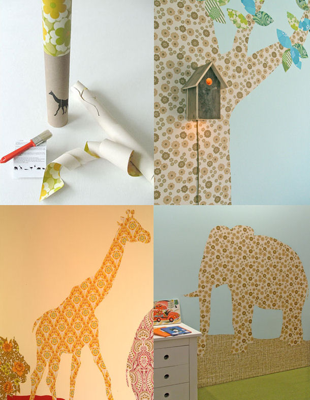 Inke - Wallpaper Silhouettes for Adults + Children (Netherlands)