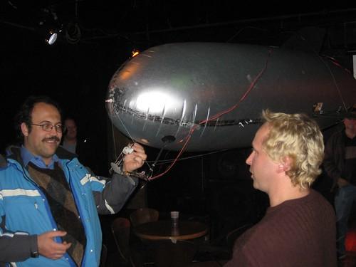 Ryan Weh and Brad Larsen: Radio-Controlled Blimp-Mounted Camera