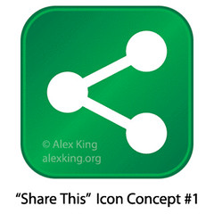 Share This Icon Concept 1