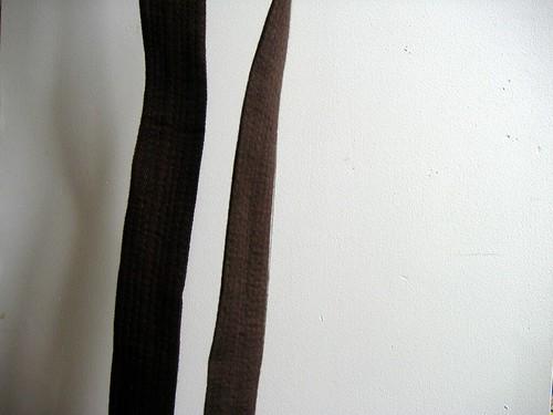My brown belt