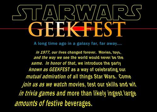 Geekfest Invite