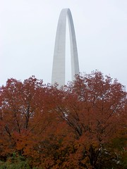 arch in fall
