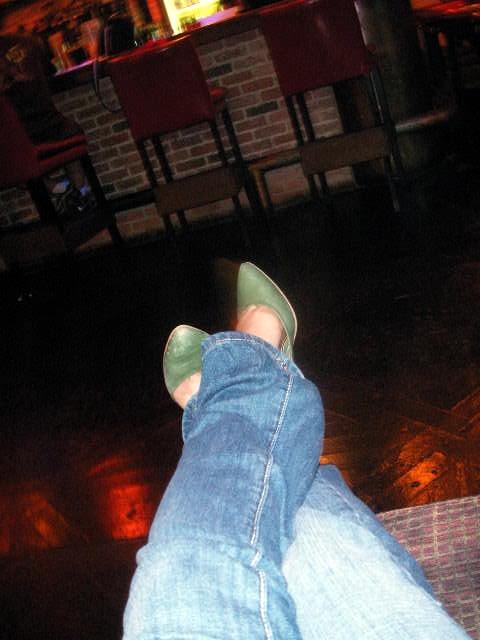 Green heels in Seoul