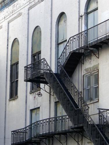 Williamsburg fire escape