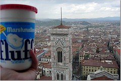 Fluff and Duomo in Firenze