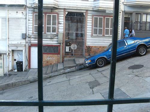 San Francisco | Outside my hostel window