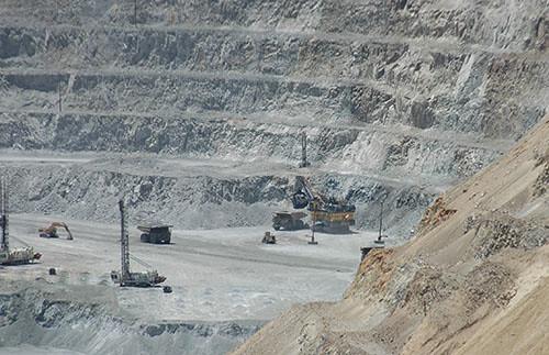 Kennecott Copper Mine - Mine Trucks