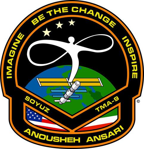 Anousheh Ansari Spacesuit Patch