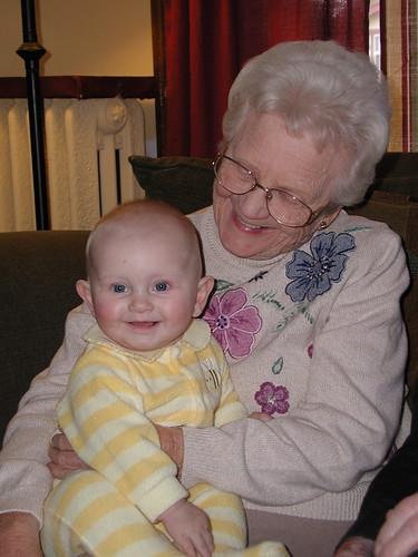 Great-Grandma is pretty nice
