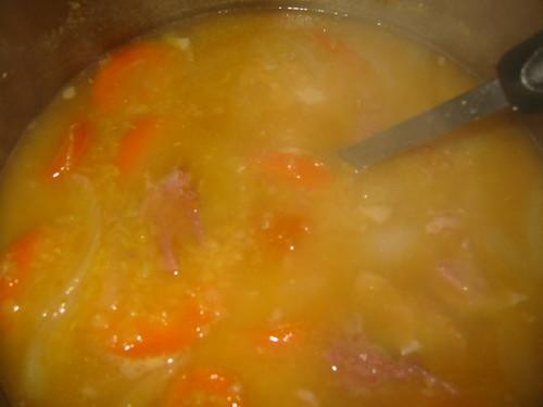 My mum's lentil soup