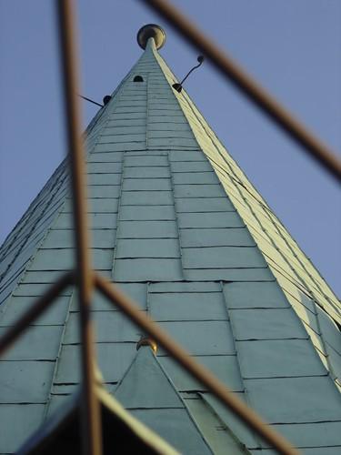 Torre de la catedral de Plzen
