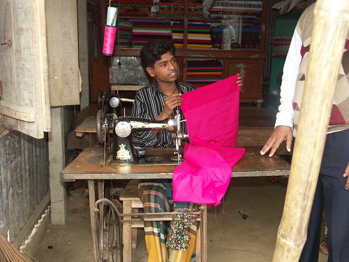 Village Tailor.. His mon got the loan off Grameen